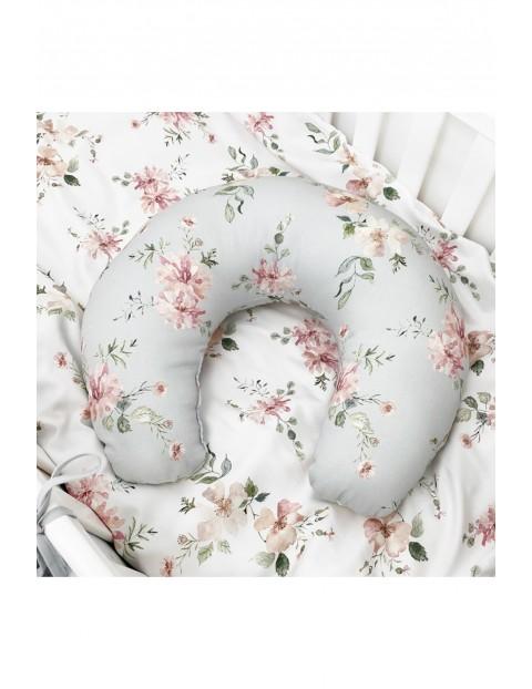 Dwustronna poduszka do karmienia z wzorem Magiczny Ogród