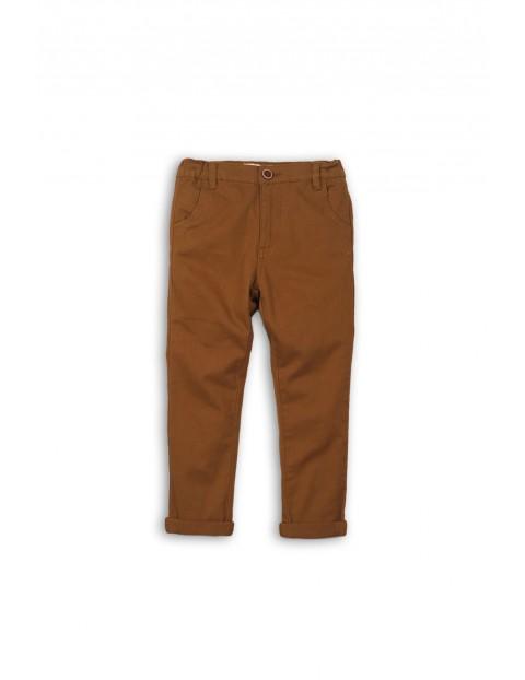 Spodnie chłopięce chinosy 2L35AJ