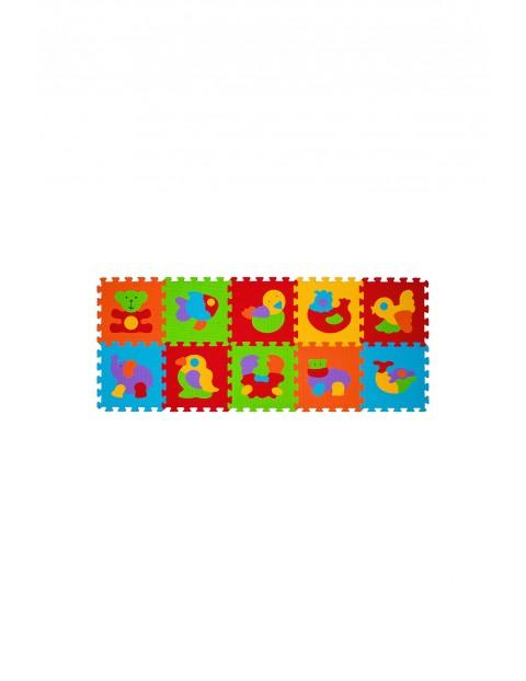 Puzzle piankowe 10szt. zwierzątka 5O34MC