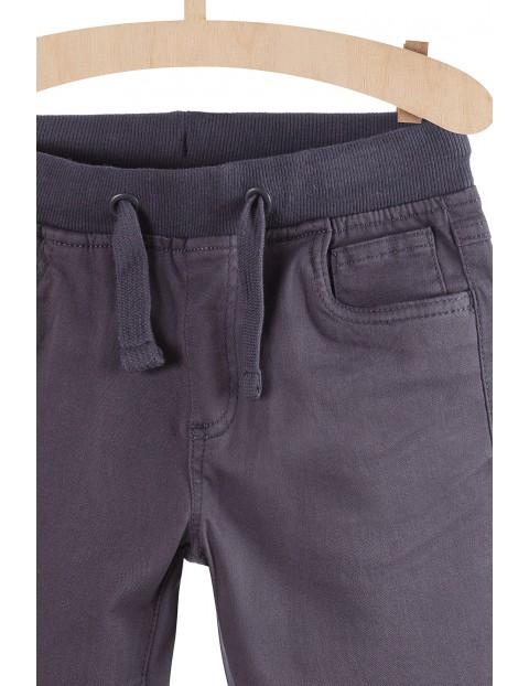Spodnie chłopięce szare