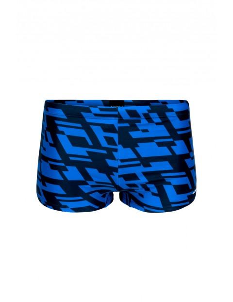 Kąpielówki-szorty męskie niebieskie Atlantic