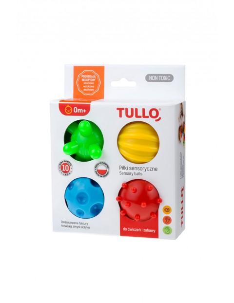 Piłki sensoryczne dla dzieci 4 szt