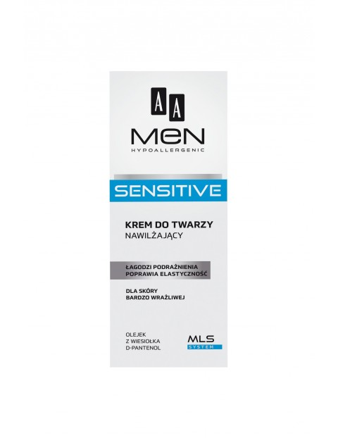 AA Men Sensitive Krem nawilżający 75 ml