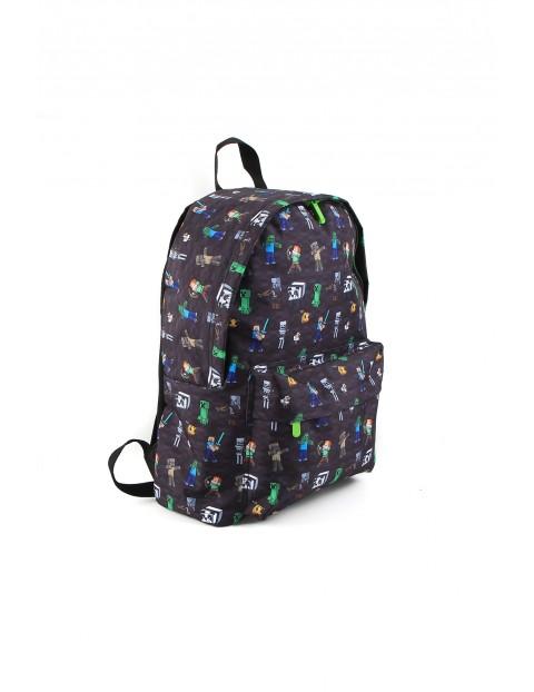 Plecak Minecraft jednokomorowy
