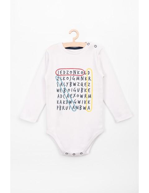 Body z długim rękawem dla niemowlaka