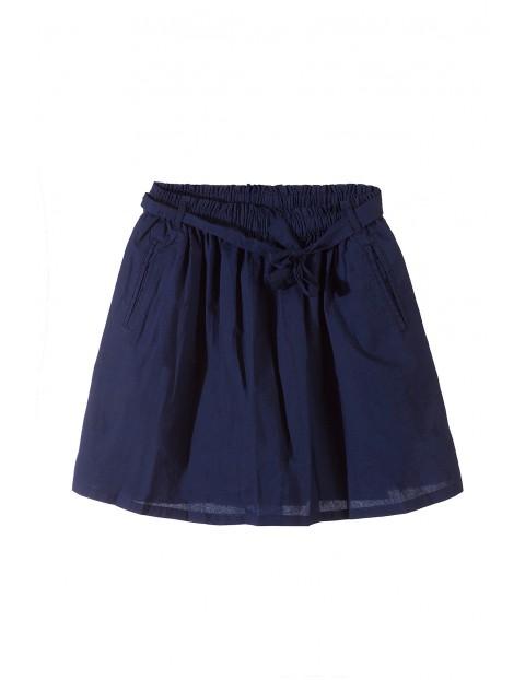 Spódnica dziewczęca 100% bawełna 4Q3412