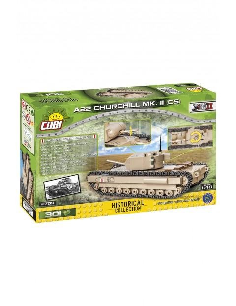 Klocki COBI 2709 A22 Churchill Mk. II CS Historical Collection - 301 el wiek 6+