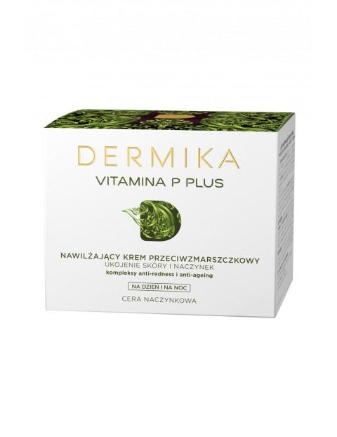 DERMIKA VITAMINA P+ -Krem przeciwzmarszczkowy  nawilżający na dzień i na noc, cera naczynkowa-50 ml