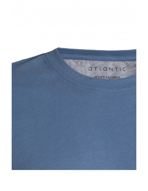 Piżama męska szorty + t-shirt Atlantic