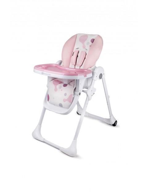 Krzesełko do karmienia Yummy pink