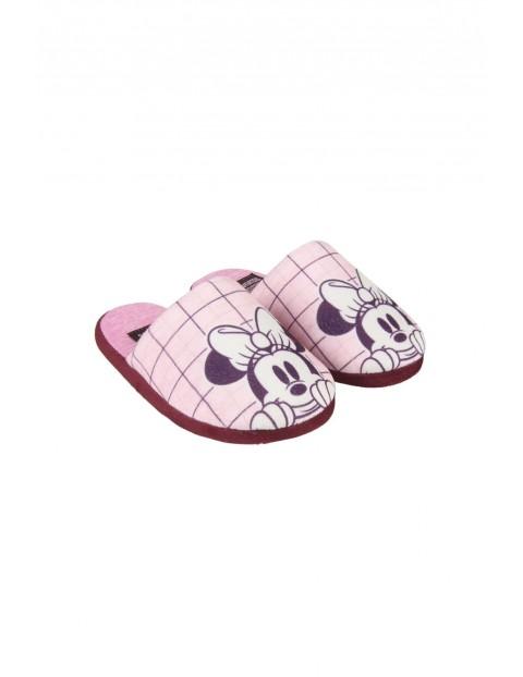 Kapcie dziewczęce Minnie - rózowe