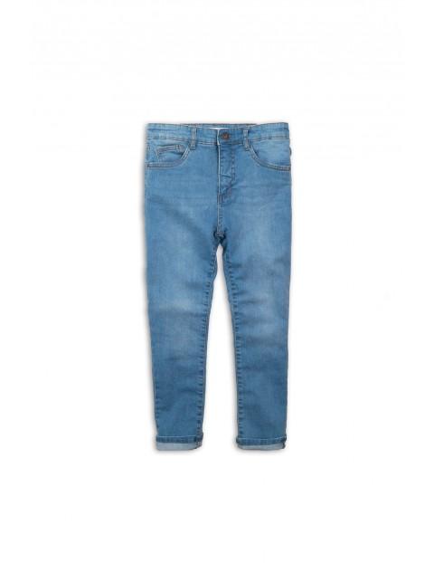 Spodnie niemowlęce jeansowe - niebieskie