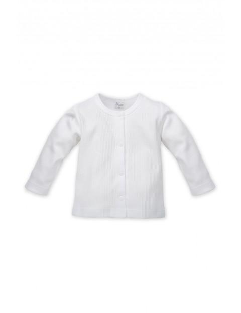 Wyprawka dla noworodka - kaftanik niemowlęcy biały
