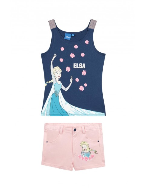Komplet dziewczęcy Kraina Lodu- Elsa