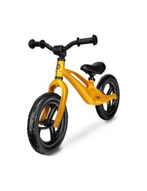 Rowerek biegowy Lionelo Education Bart Goldie- żółty