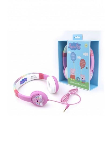 Słuchawki OTL nauszne Peppa Glitter Rainbow wiek 4-7 lat