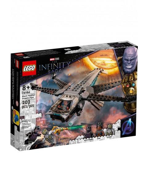 LEGO Super Heroes - Helikopter Czarnej Pantery - 202 elementów,  wiek 8+