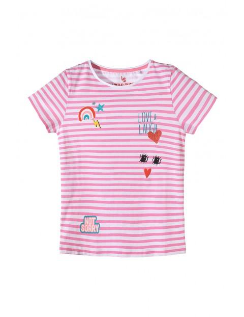 T-shirt dziewczęcy 4I3408