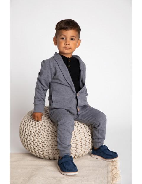 Bluza dresowa chłopięca-szara