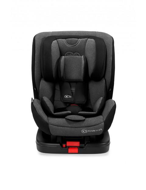 KInderkraft Fotelik samochodowy dla dzieci Vado ISOFIX czarny 0-25 kg, RWF 0-18kg
