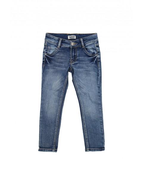 Spodnie jeansowe chłopięce