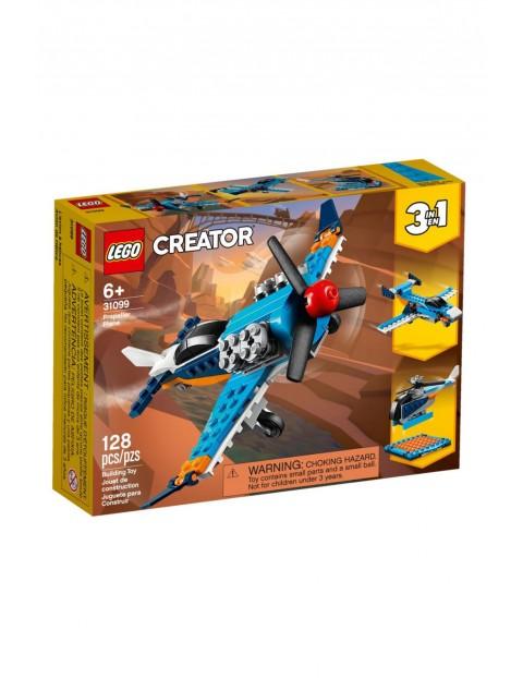 Lego Creator - Samolot śmigłowy - 128 elementy wiek 6+