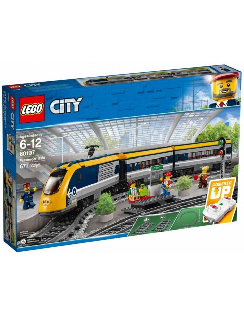 Klocki City Pociąg pasażerski 677el