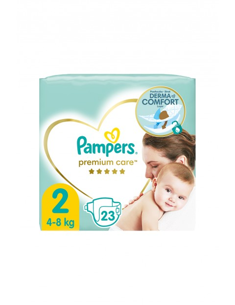 Pampers Premium Care rozmiar 2, 23 pieluszki 4-8kg