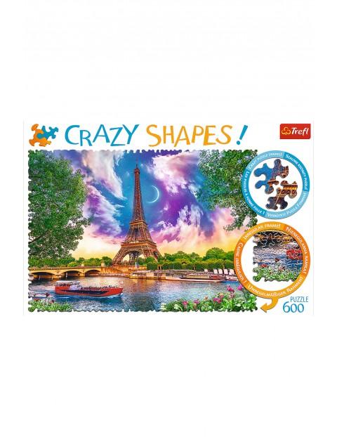 Puzzle Crazy Shapes - Niebo nad Paryżem - 600 elementów