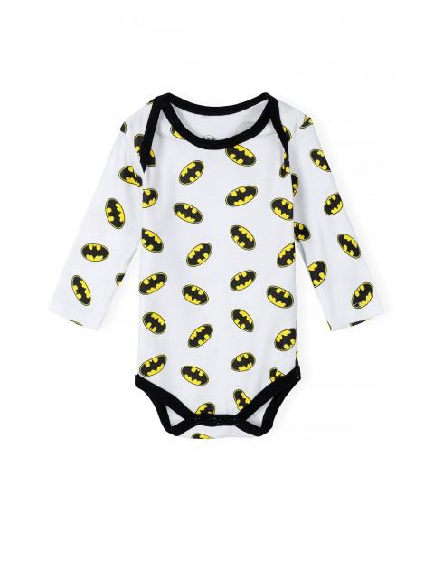 Bawełniane body niemowlęce Batman