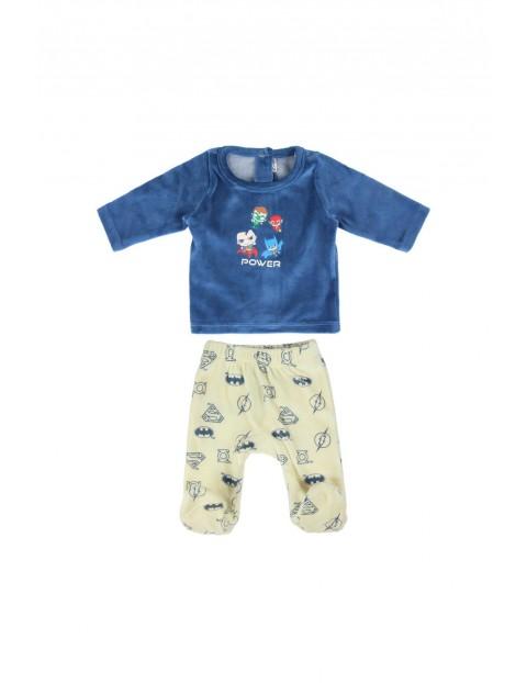 Komplet niemowlęcy -bluzka i spodenki Batman