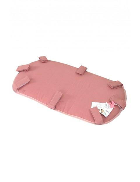 Podłoga do warkocza 210cm - różowa