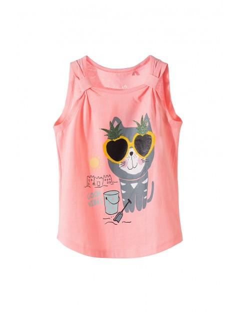 Koszulka dziewczęca na lato