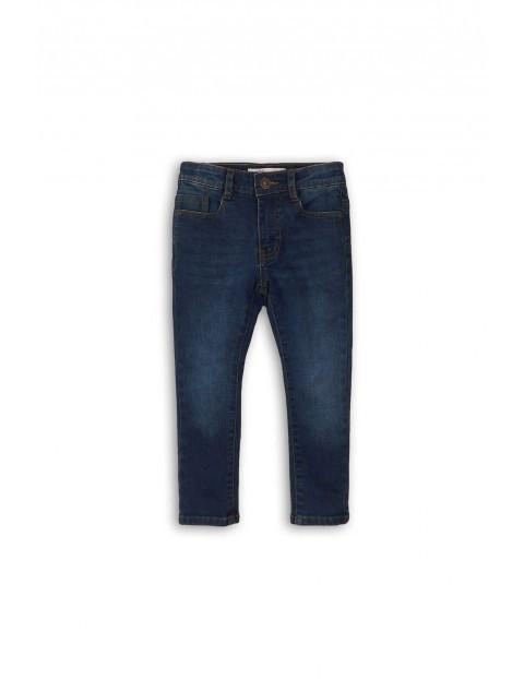 Spodnie dla chłopca- niebieskie jeansowe