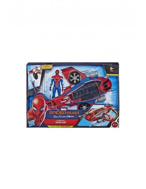 Spiderman daleko od domu - odrzutowiec Spidermana 4+