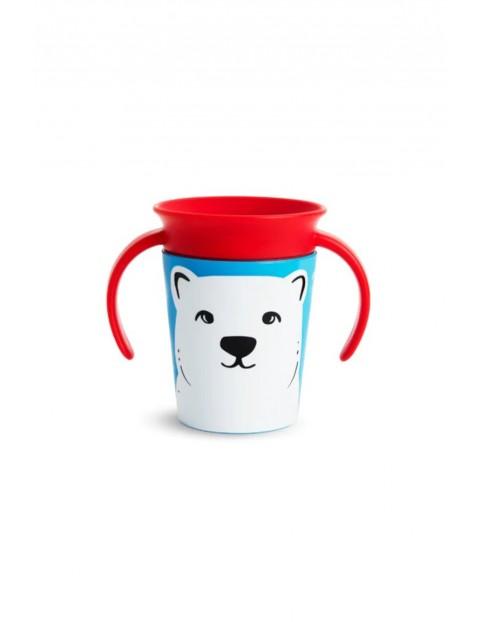 Kubek treningowy  360° Eco z niedźwiedziem polarnym 177ml 6msc+