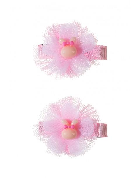 Spinki do włosów różowe-2pak