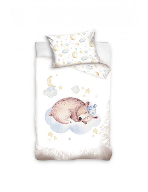 Komplet pościeli niemowlęcej Niedźwiadek 100 x 135cm