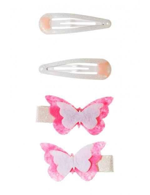 Spinki do włosów-motylki