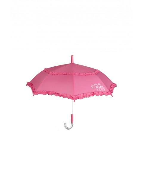 Parasol dziewczęcy różowy 3Y35GS