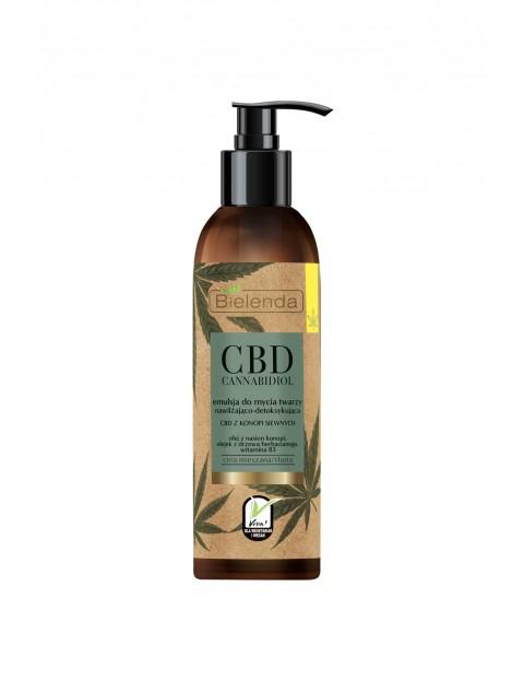 CBD Cannabidiol Emulsja do mycia twarzy CBD z konopi siewnych - c. mieszana, tłusta Bielenda - 150ml