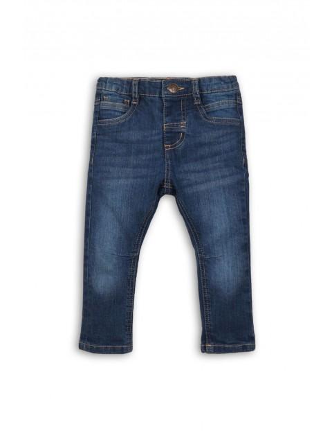 Spodnie chłopięce jeansowe 1L34AC
