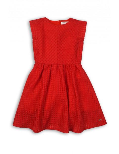 2f1969c081 Elegancka sukienka dla dziewczynki- czerwona