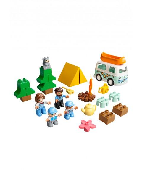 LEGO DUPLO Town - Rodzinne biwakowanie 10946 - 30 elementów, wiek 2+