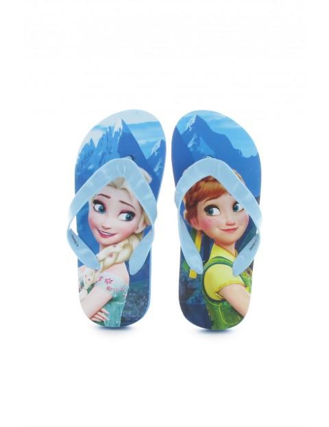 Klapki japonki dziewczęce Frozen