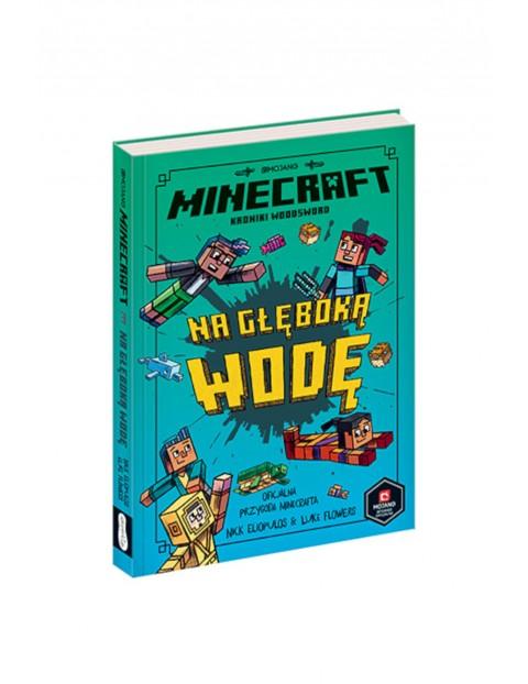 Minecraft. Na głęboką wodę- książka