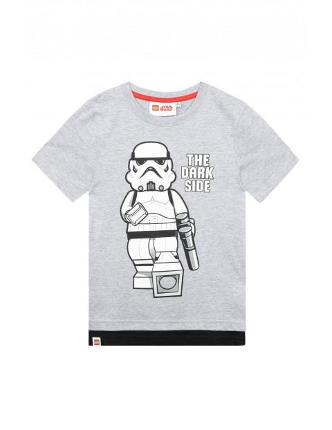 Koszulka chłopięca Lego Star Wars-the dark side