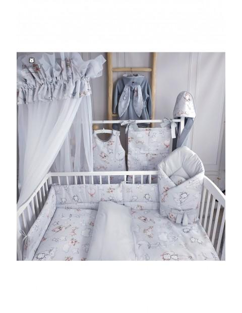 Baldachim/moskitiera 400x170 cm biała - Kolorowe sny