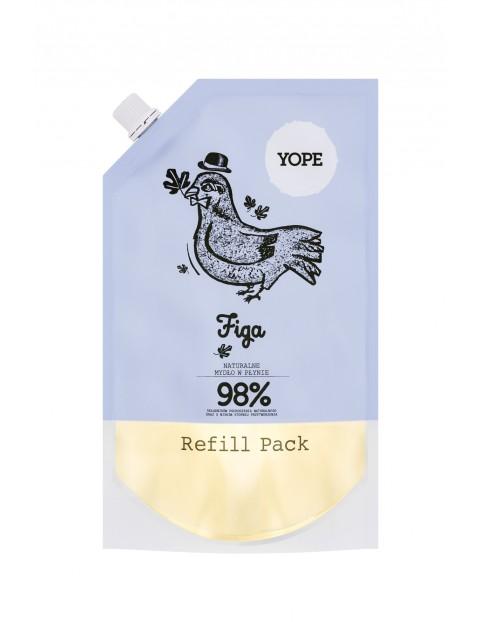 YOPE Refill Mydło Figa 500ml