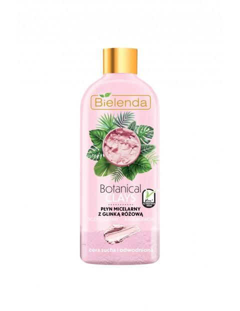 BOTANICAL CLAYS Wegański płyn micelarny z glinką różową - 500 ml